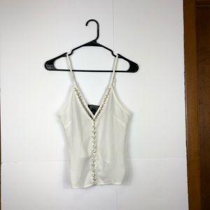 H&M metal hoop camisole Sz 4